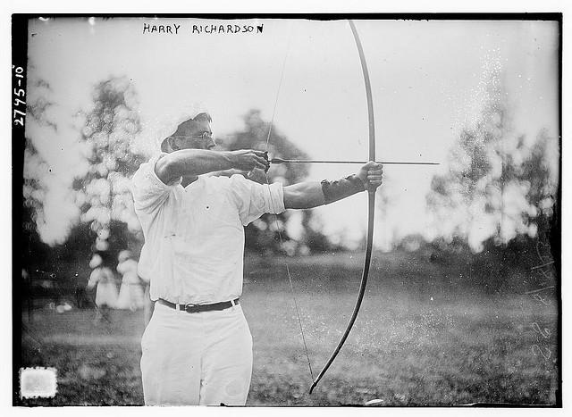 man_archery